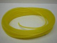 30cm 燃料ホース黄色耐油 5.3mmX2.9mm